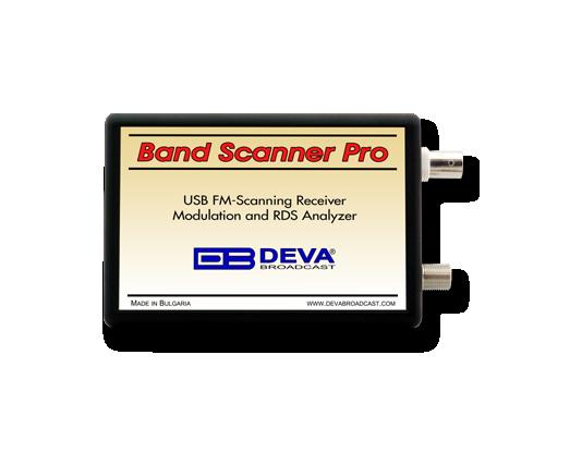 Band Scanner PRO, DEVA Broadcast