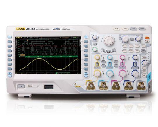 MSO4034 Mixed Signal Oscilloscope, 350MHz, 4GSa/s, Rigol