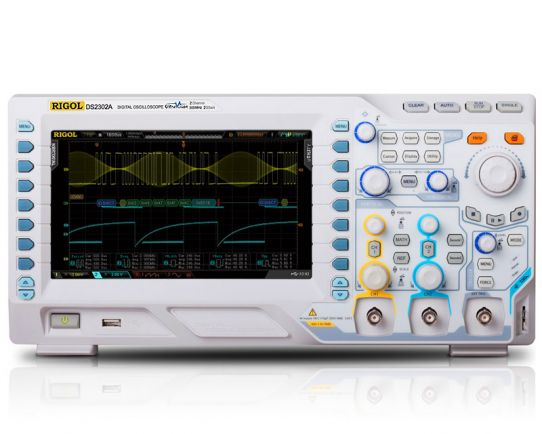 DS2302A-S Digital Oscilloscope 300MHz with WF Generator, Rigol