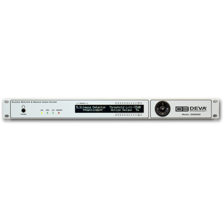 DB8000 Silence Monitor & Backup Audio Player, DEVA Broadcast