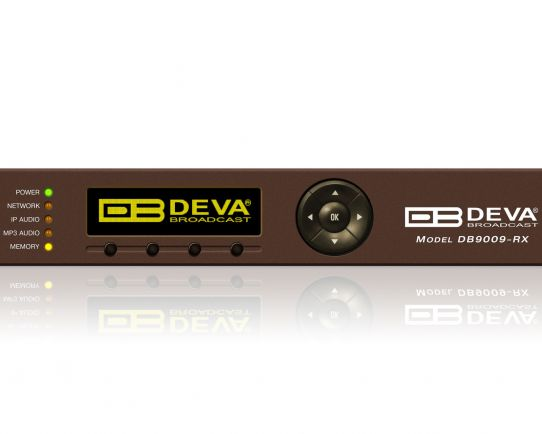 DB9009-RX Advanced IP Audio Decoder, DEVA Broadcast