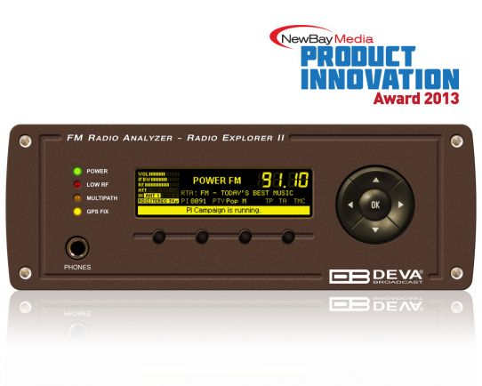 Radio Explorer II - Mobile FM Radio Analyzer, DEVA Broadcast