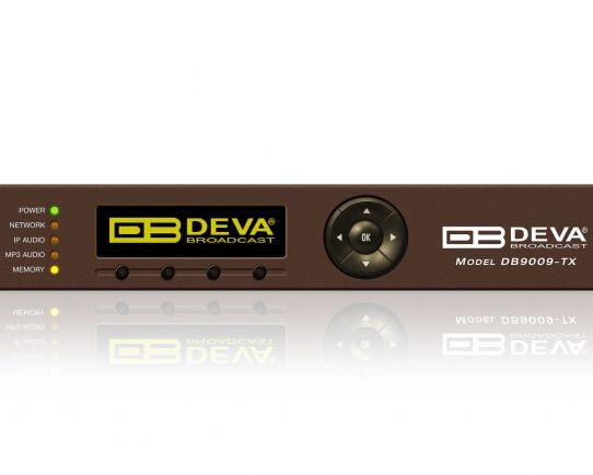 DB9009-TX Multi Protocol Audio IP Encoder, DEVA Broadcast