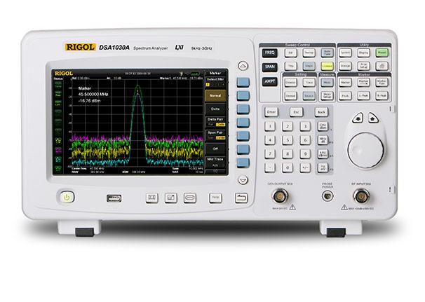 DSA1030-TG Spectrum Analyzer with 3 GHz Tracking Generator, Rigol