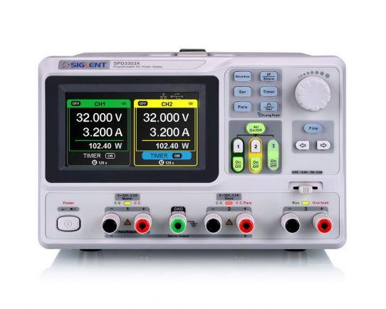 SPD3303X 220W Power Supply, Siglent