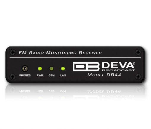 DB44 Compact FM Radio Monitoring Receiver, DEVA Broadcast