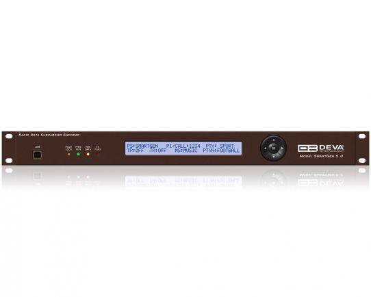 Smart Gen 5.0 Codificador Dinámico RDS/RBDS Profesional con conectividad LAN, USB y RS-232, DEVA Broadcast