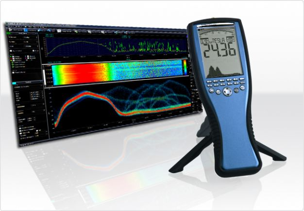 EMC/EMI Spectrum Analyzer 1Hz-1MHz/20MHz/30MHz with E&H sensor SPECTRAN NF-5030, Aaronia