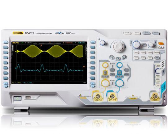 DS4022 Digital Oscilloscope 200MHz, 4GSa/s, Rigol