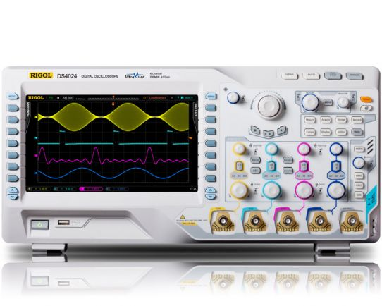 DS4024 Digital Oscilloscope 200MHz, 4GSa/s, Rigol