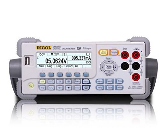 DM3058 Digital Multimeter 5 ½ Digits, Web control, Rigol
