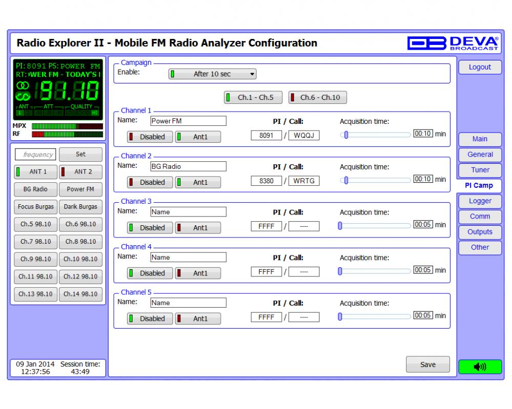fm radio analysis